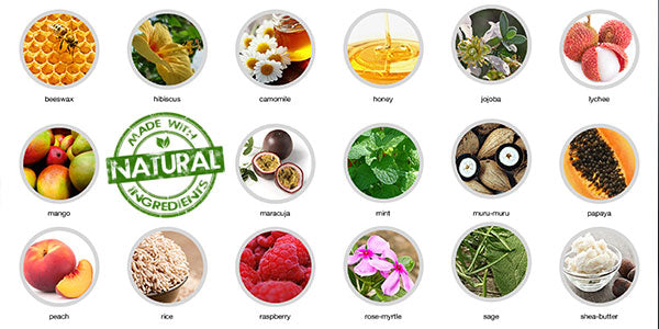 Look out for natural ingredients