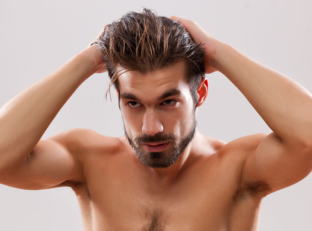 Using The Wrong Men's Hairstyling Products
