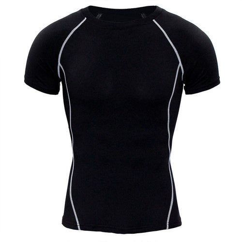 Quick Dry Compression Crossfit Workout Top