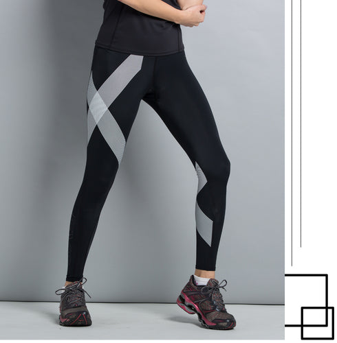 Professional Fitness Crossfit Bodybuilding Compression Tights