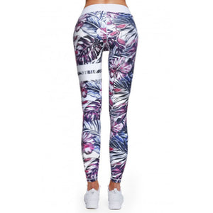 Floral Pattern Crossfit Bodybuilding Compression Tights