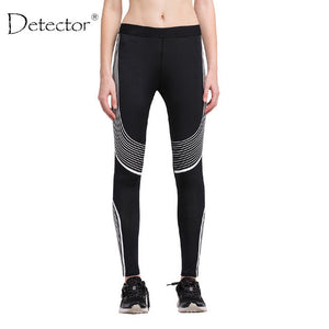 Striped Pattern Crossfit Bodybuilding Compression Tights
