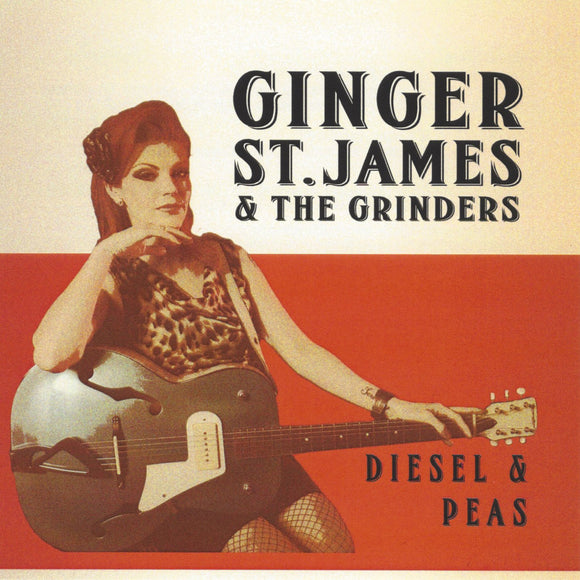 Ginger St. James - Diesel And Peas CD