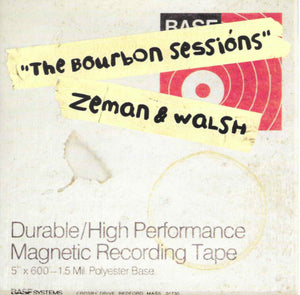 Brock Zeman & Dan Walsh - The Bourbon Sessions CD