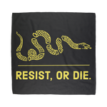 resist, or die bandana