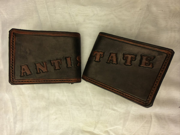 ANTISTATE leather wallet