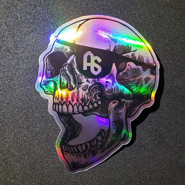 antistate eyepatch holographic decal 4""