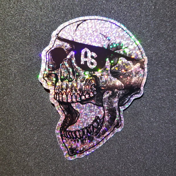 antistate eyepatch holo glitter decal 4""