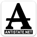 antistate icon decal 2""