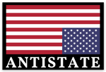 antistate tiny flag decal