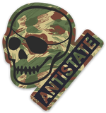 rhodesian antistate patched-skull decal 3""