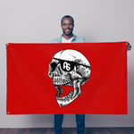 ANTISTATE No Quarter no quarter 5'x3' red flag