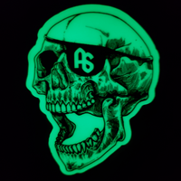 antistate glow eyepatch decal 2""