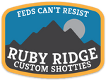 ruby ridge die-cut decal