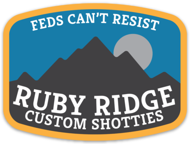 ruby ridge die-cut decal 4""