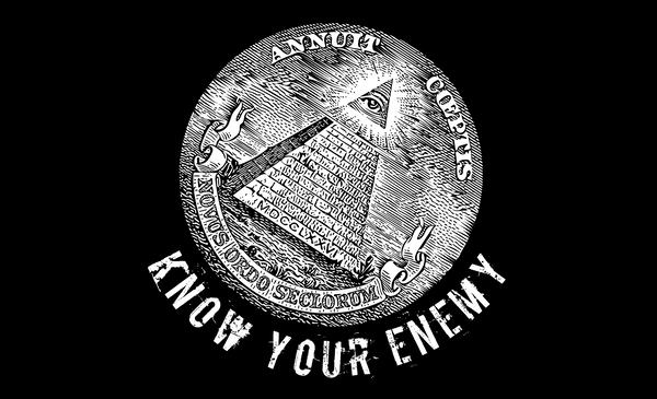 know your enemy 5'x3' flag