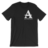 antistate label dark t-shirt