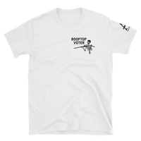 rooftop voter v2 light t-shirt