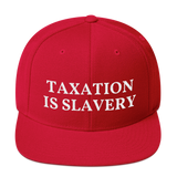 taxation is slavery snapback