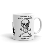 the gov't is not us mug