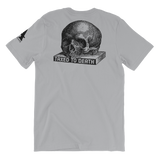 taxed to death antistate light t-shirt