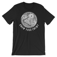 know your enemy dark t-shirt