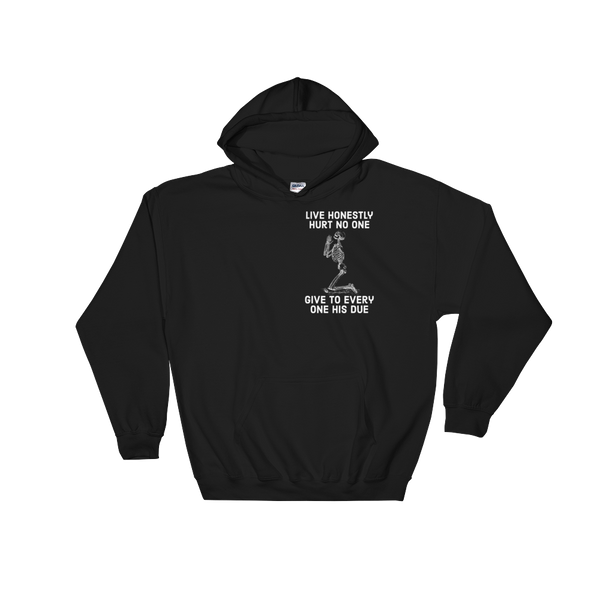 every one his due v2 hoodie