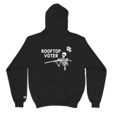 ANTISTATE rooftop voter v2 Champion hoodie