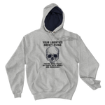 liberties aren't dying Champion hoodie