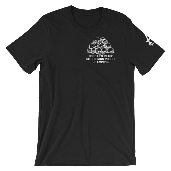 rubble of empires v2 dark t-shirt