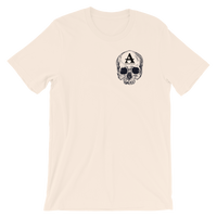 skull light t-shirt