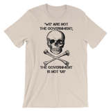 the gov't is not us light t-shirt