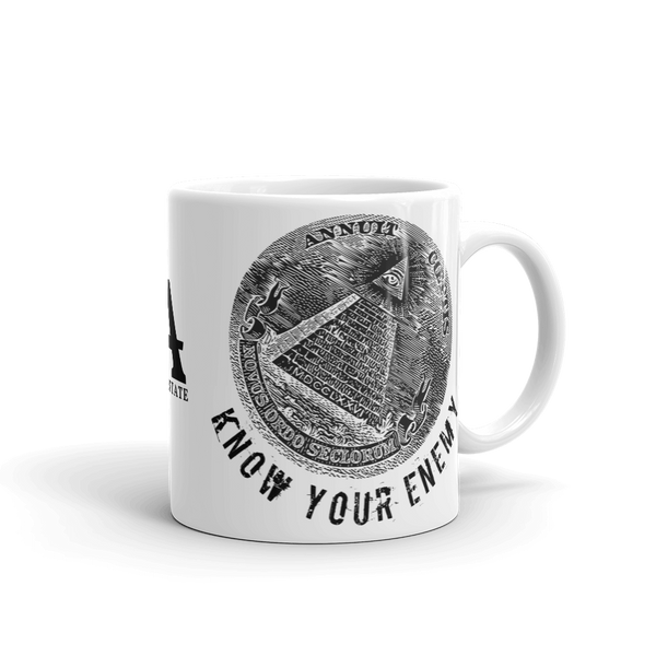 know your enemy mug