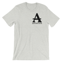antistate label light t-shirt