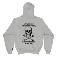 the gov't is not us Champion hoodie