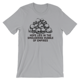 rubble of empires v1 light t-shirt