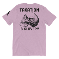 taxation is slavery v2 light t-shirt