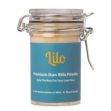 Load image into Gallery viewer, Lilo Premium Ikan Bilis Powder Bottle 50grams - Lilo Premium Ikan Bilis Powder