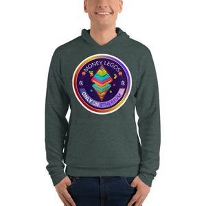 Unisex hoodie - Money Legos Circle