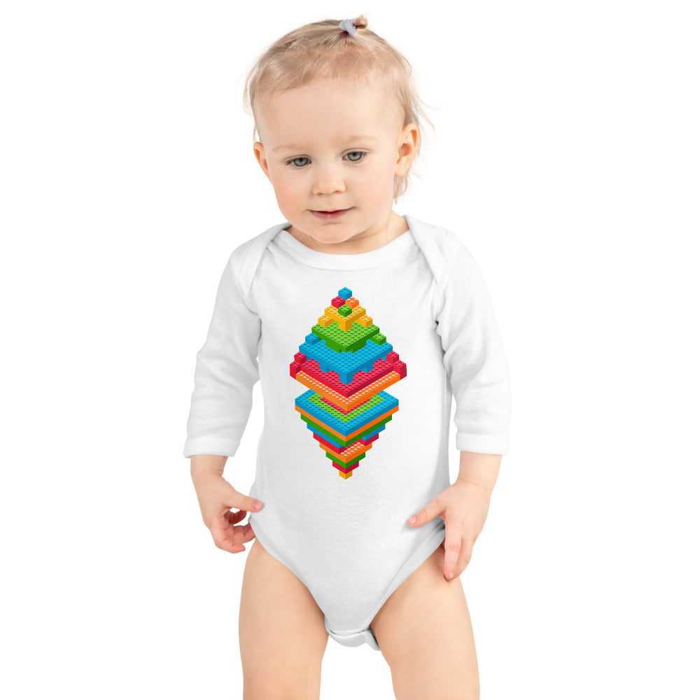 Money Legos Onesie