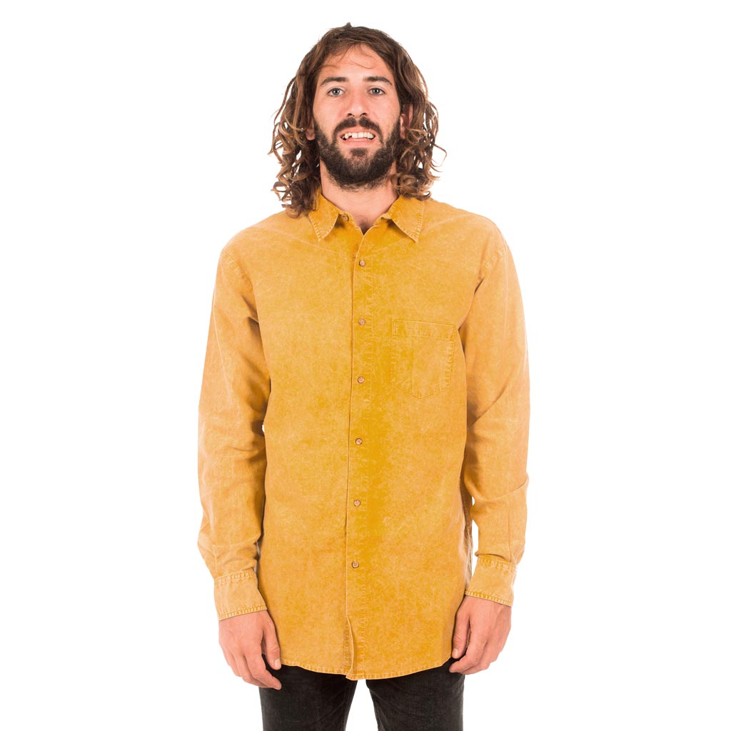 OXFORD WASHED COYOTE L-SHIRT