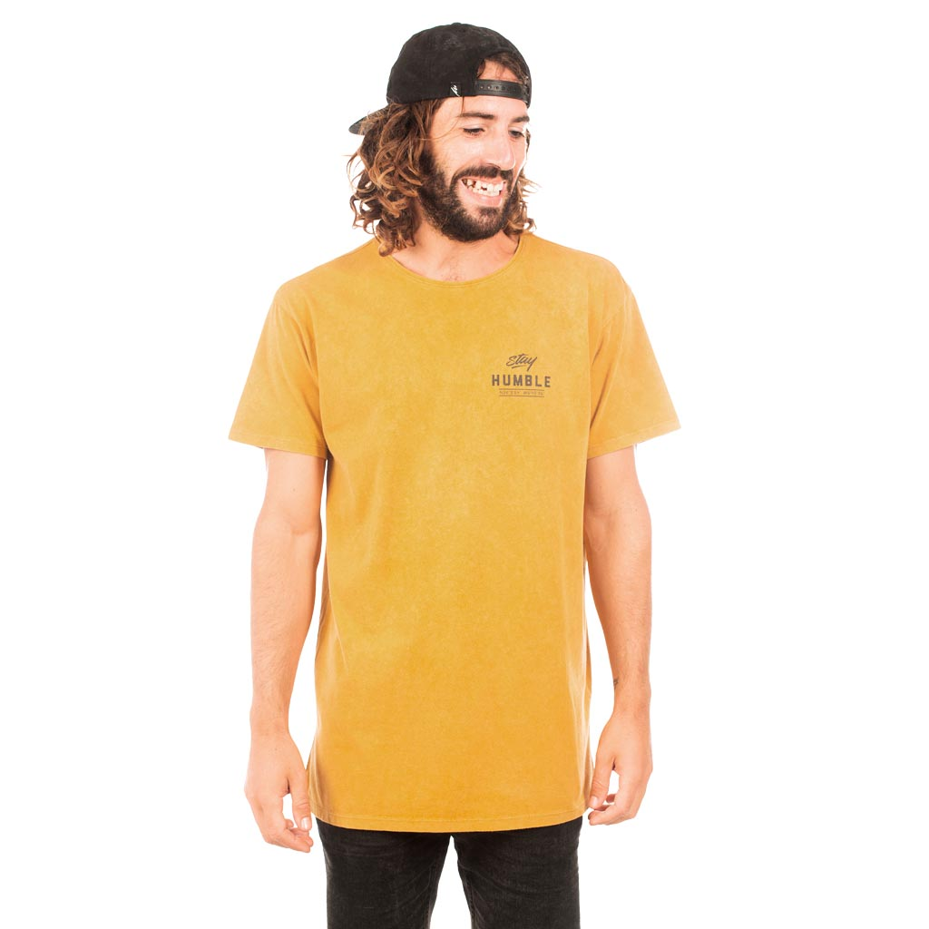 ABODE TEE - WASHED COYOTE