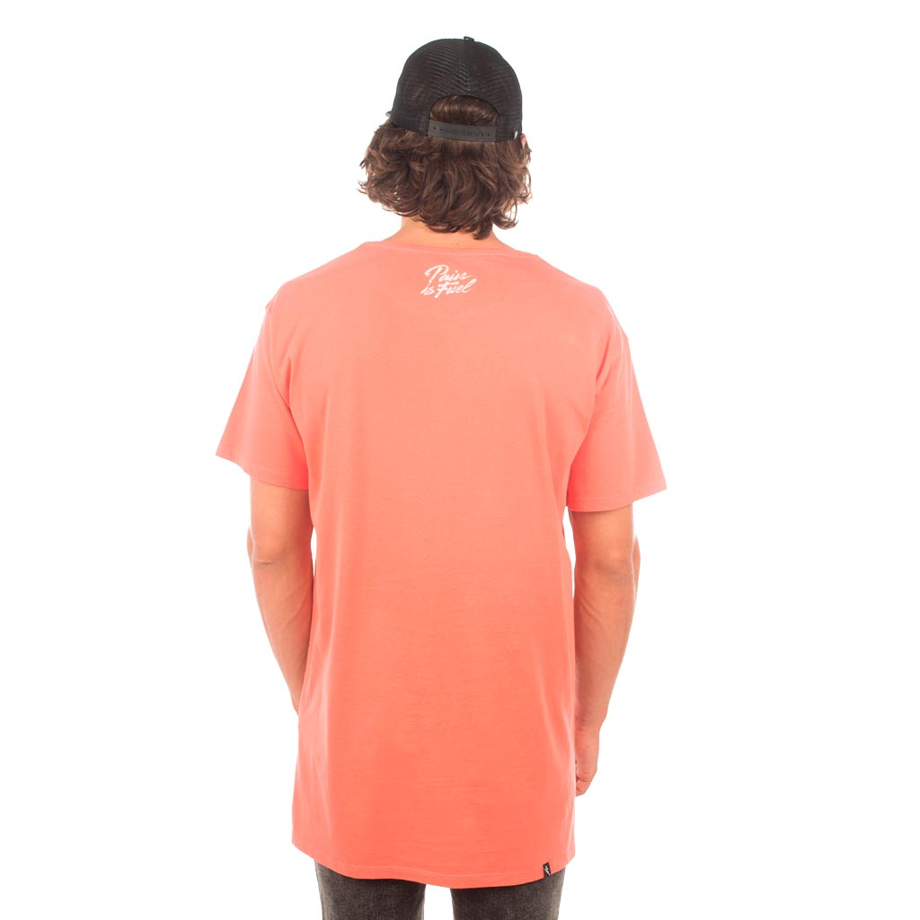 PAIN TEE - WASHED RED