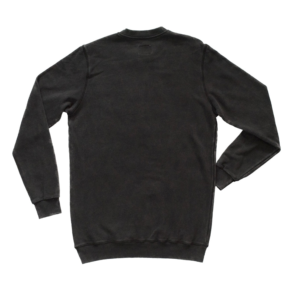 LOGO SWEAT - WASHED BLACK