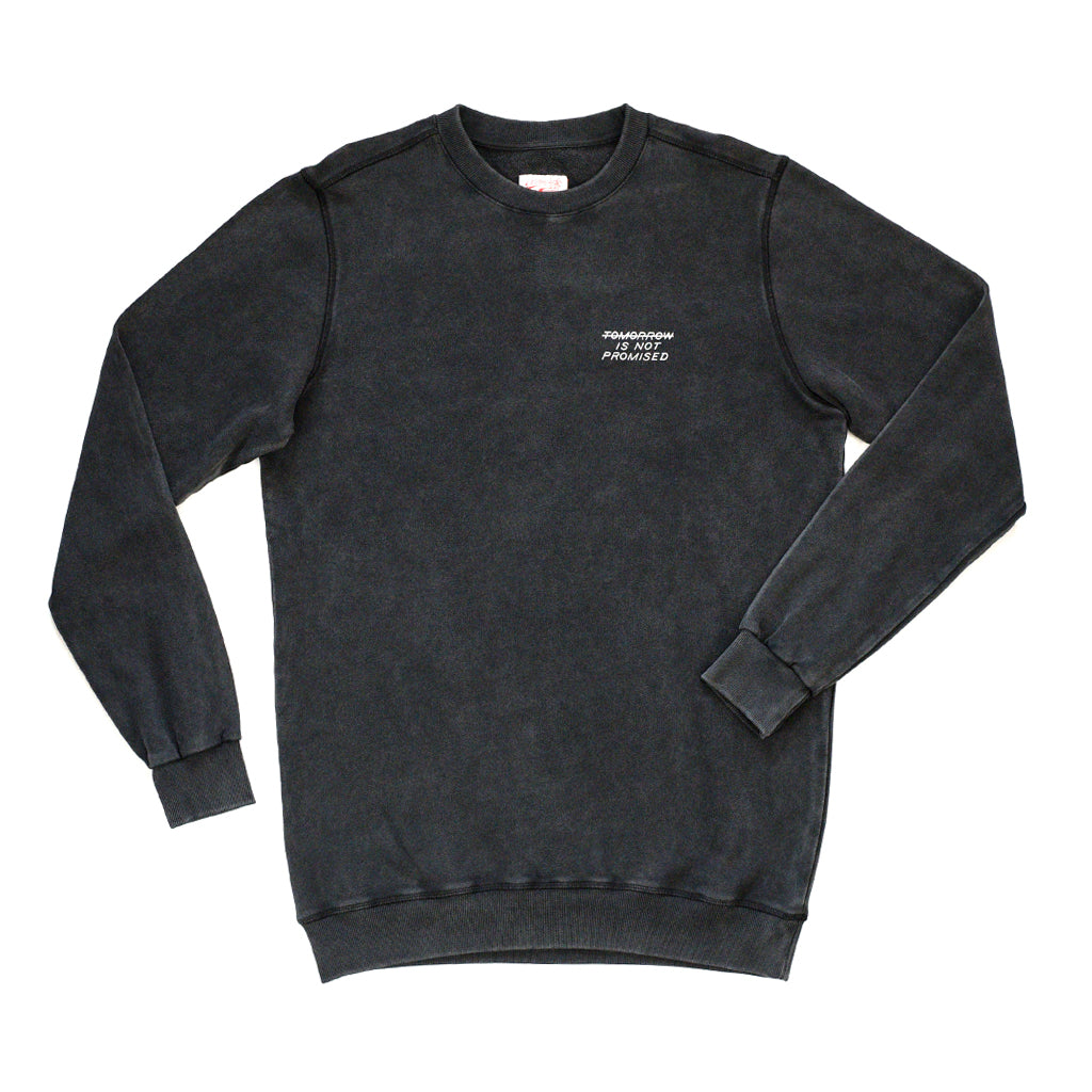 DATE SWEAT - WASHED BLACK