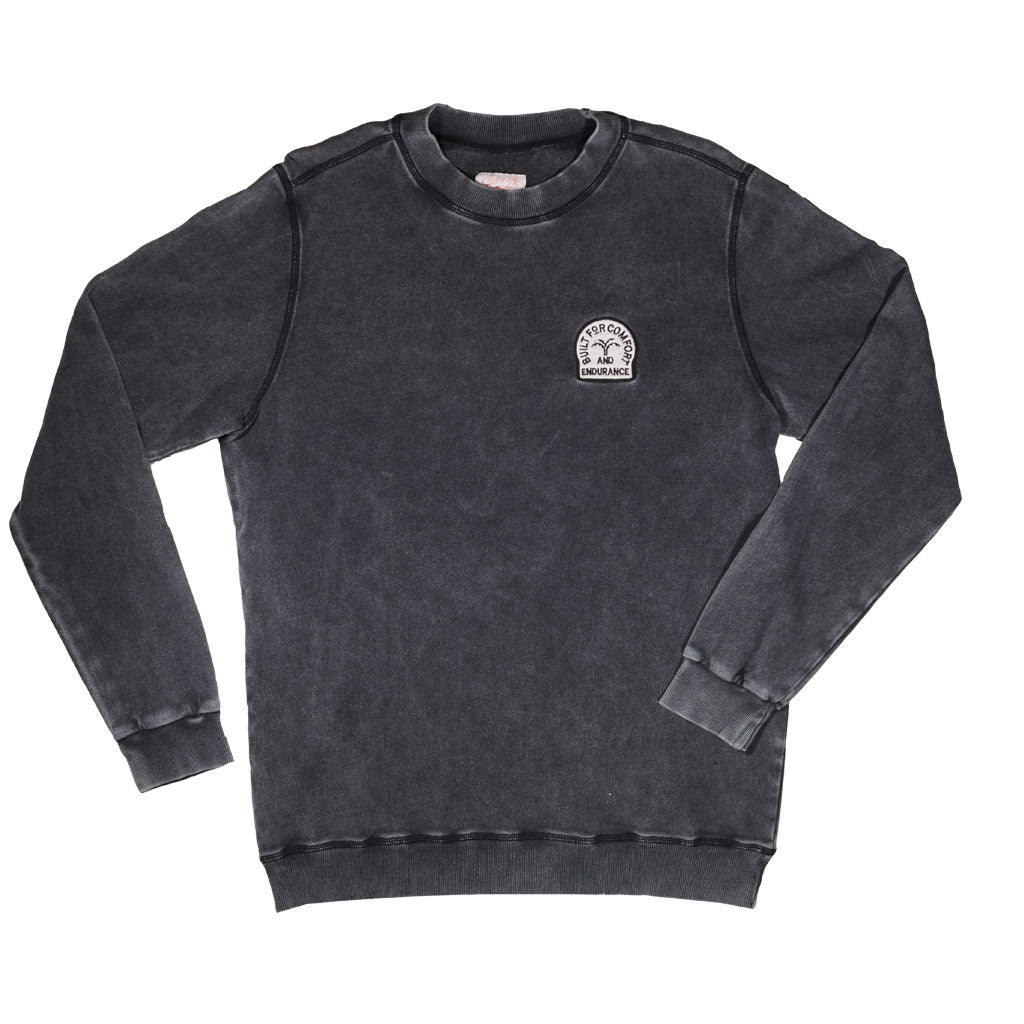 COMFORT SWEAT - WASHED BLACK