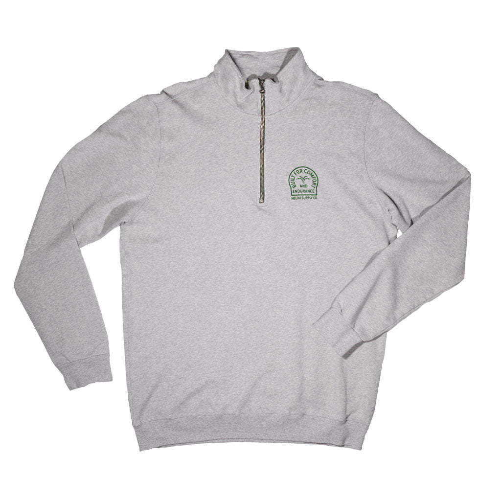 PENNON SWEAT - GRAY MELANGE