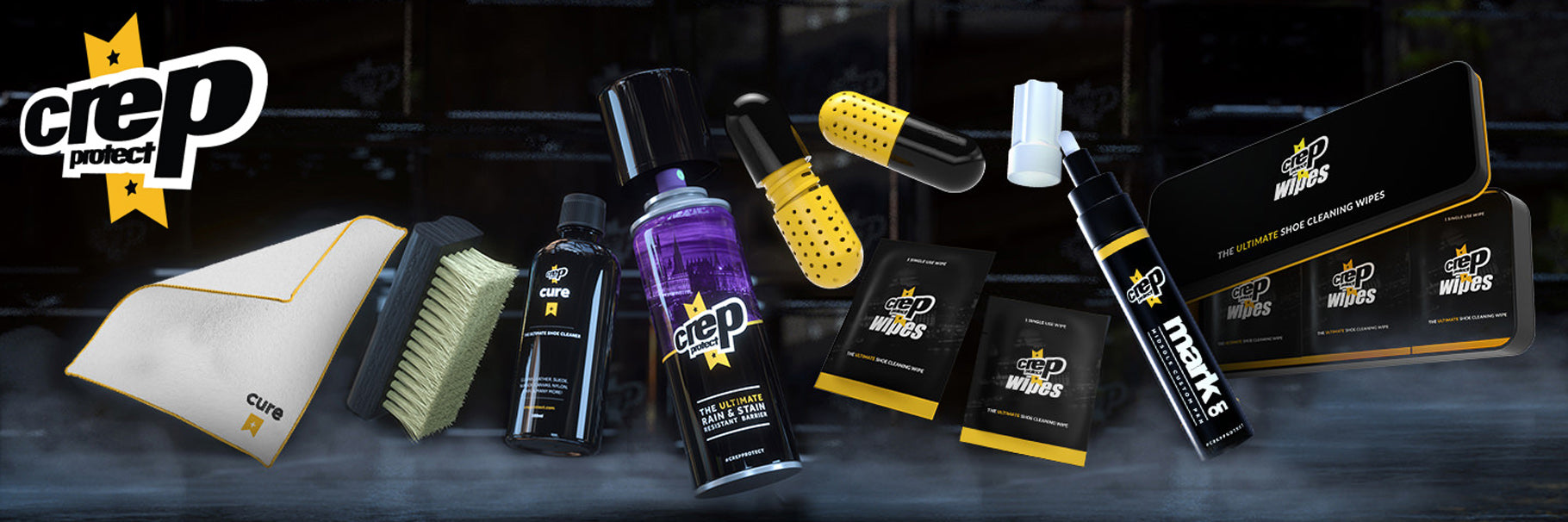 Crep Protect Brand Banner