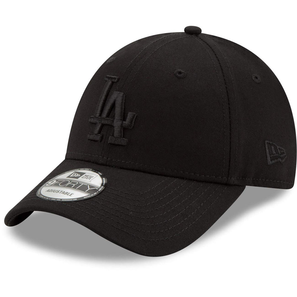 New Era - 9Forty Los Angeles Dodgers - Black On Black