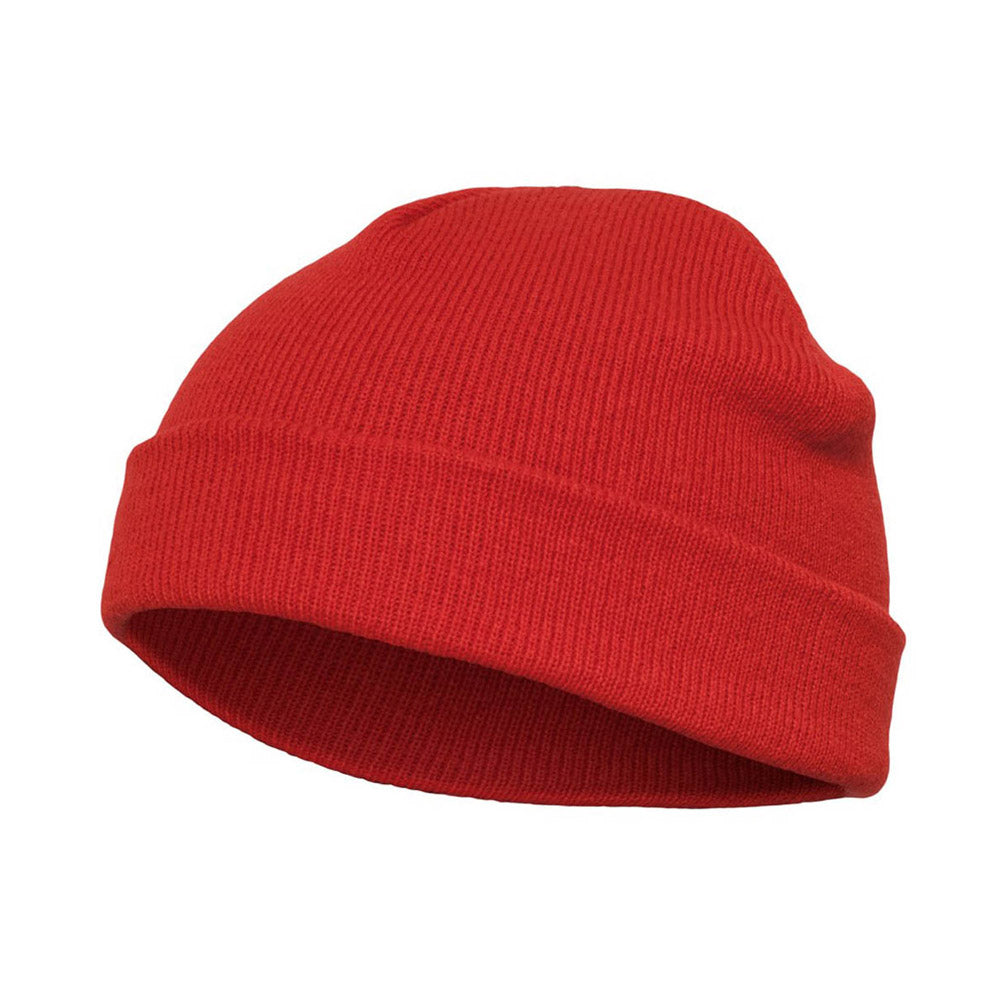 Yupoong - Short Beanie - Red